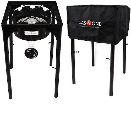 GasOne Propane Burner with Stand & Cover